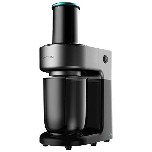 Cecotec Espirilizador SpiralChef 400. 80 W, 4 Cuchillas de Acedo Inoxidable de Diferentes tamaños, Recipiente 1 L, Canal Ancho de Entrada, Piezas Desmontables y aptas para lavavajillas