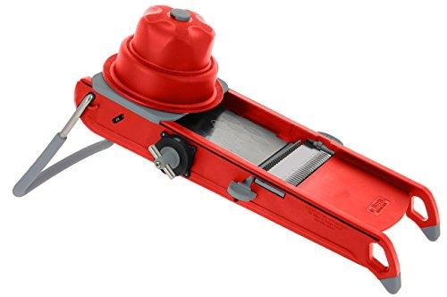 De Buyer 2015.43Swing Plus Rallador de Verduras, plástico, Rojo, 44,5x 19.5x 15cm